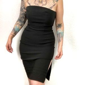 Express Strapless Fitted Sheath Dress